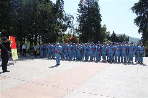 贝斯特全球最奢华222训练红色教育